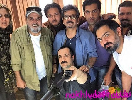 عکس دسته جمعی بازیگران سریال پایتخت