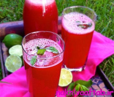 نوشیدنی های هندوانه ای برای فصل گرما