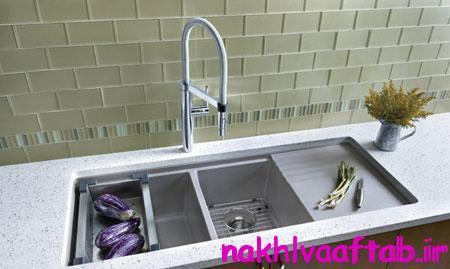 راهنمای خرید تجهیزات آشپزخانه,تکنیک های انتخاب سینک های آشپزخانه
