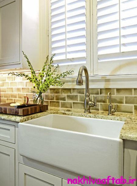 انتخاب شیک ترین سینک های آشپزخانه,سینک های خاص برای دکوراسیون آشپزخانه