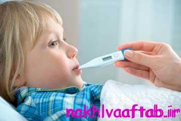 تب در کودکان,درمان تب کودک
