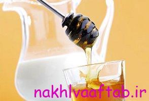 شیر را با گلاب و عسل بخورید!