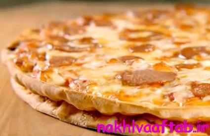 طرز تهیه پیتزا دو طبقه