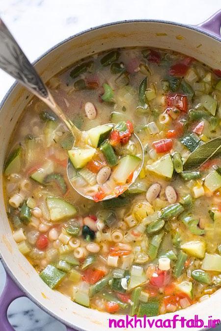 سوپ ماکارونی,طرز تهیه سوپ ماکارونی