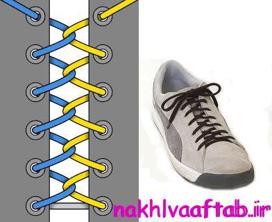 مدل های بستن کفش
