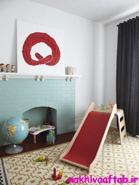 طراحی سرسره در خانه, زیباترین طراحی سرسره