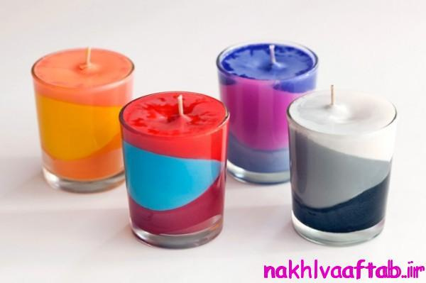 Making colored candles(6)