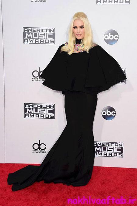 هنرمندان هالیوودی در مراسم جوایز موسیقی آمریکا,اخبار مد و ستاره ها