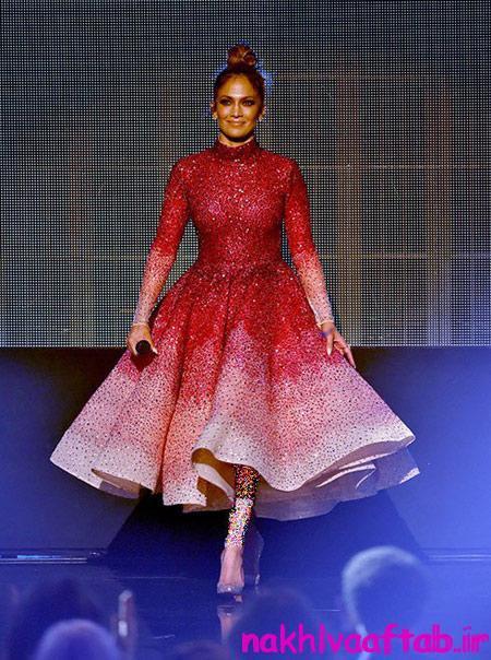 تصاویری از مراسم جوایز موسیقی آمریکا, بهترین لباس های هنرمندان در مراسم جوایز موسیقی آمریکا