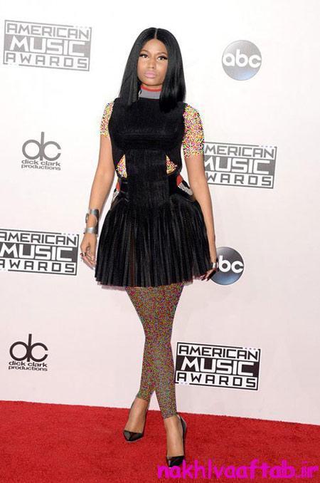 هنرمندان هالیوودی در مراسم Americam Music Awards 2015,مراسم Americam Music Awards 2015