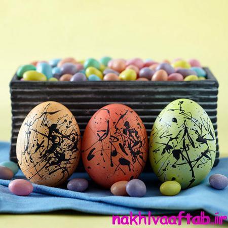 تزیین تخم مرغ با کاغذ, تزیین تخم مرغ