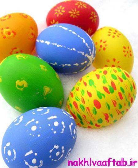 تزیین تخم مرغ