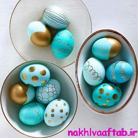 تزیین تخم مرغ سفره هفت سین,تخم مرغ رنگی,تخم مرغ سفره هفت سین,سفره هفت سین,هفت سین