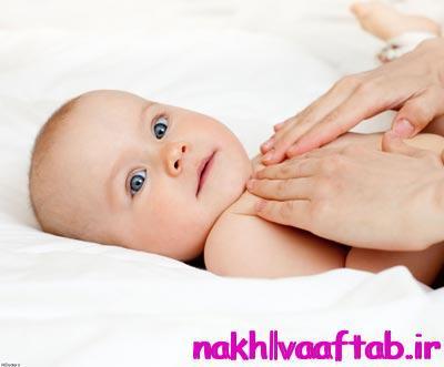 چند دلیل برای ماساژ نوزاد