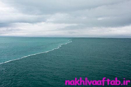 جدایی دو دریا، یکی از معجزه های قرآن
