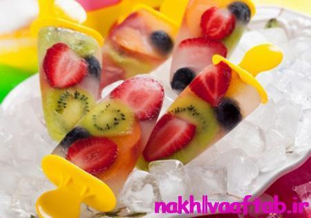 طرز تهیه بستنی یخی,بستنی یخی با پاستیل,طرز تهیه بستنی میوه ای,بستنی,طرز تهیه بستنی,بستنی یخی