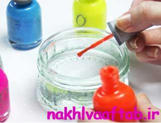 لاک براق,لاک پاک کن,طراحی ناخن با لاک,لاک,ناخن,طراحی ناخن,آموزش طراحی,آموزش طراحی ناخن
