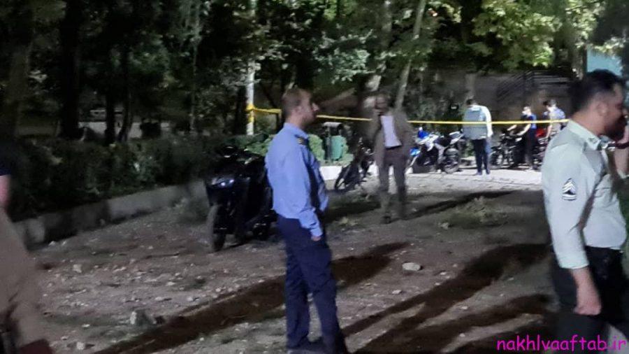 تصاویر حادثه پارک ملت